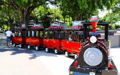 The Xpress Fun Train at South Bank