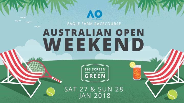 Australian Open Weekend – Big Screen on the Green